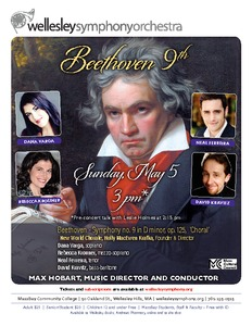 Beethoven: Symphony no. 9 in D minor, op.125, 'Choral'