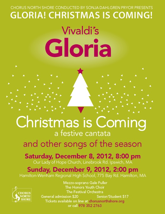 Gloria! Christmas is Coming