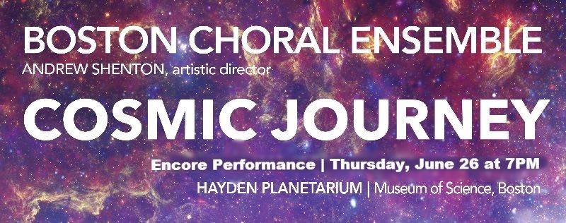 Cosmic Journey (Encore performance)