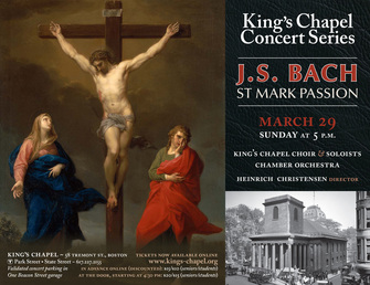 Johann Sebastian Bach: St. Mark Passion