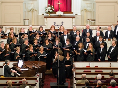 Handel's Messiah sung by Chorale Connecticut and the Voice Ensemble of Hartford