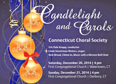 Candlelight and Carols concerts