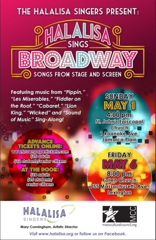 Halalisa Goes Broadway: Songs from Stage and Screen