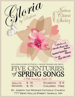 Five Centuries of Spring Songs