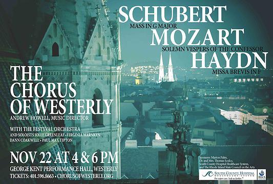 Mozart, Haydn, Schubert