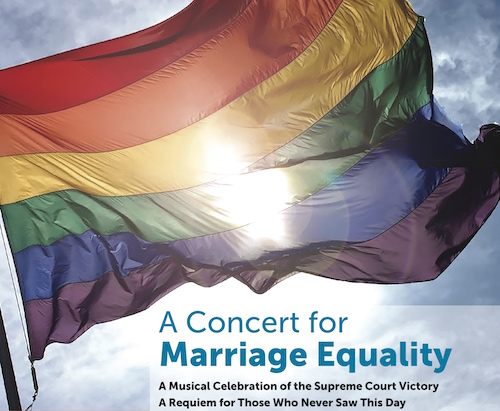 A Concert for Marriage Equality