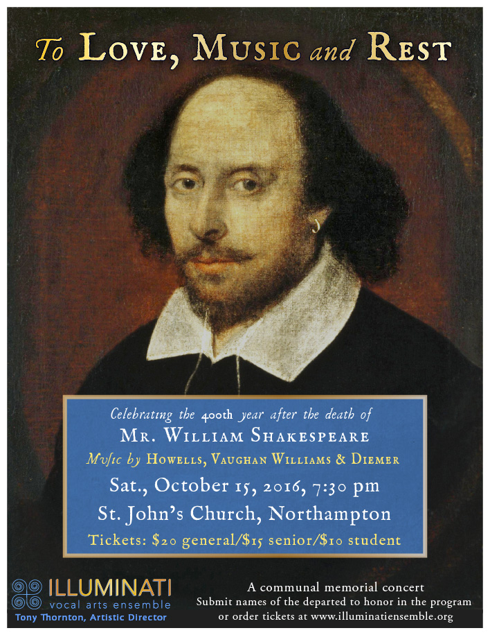To Love, Music and Rest: Celebrating Shakespeare