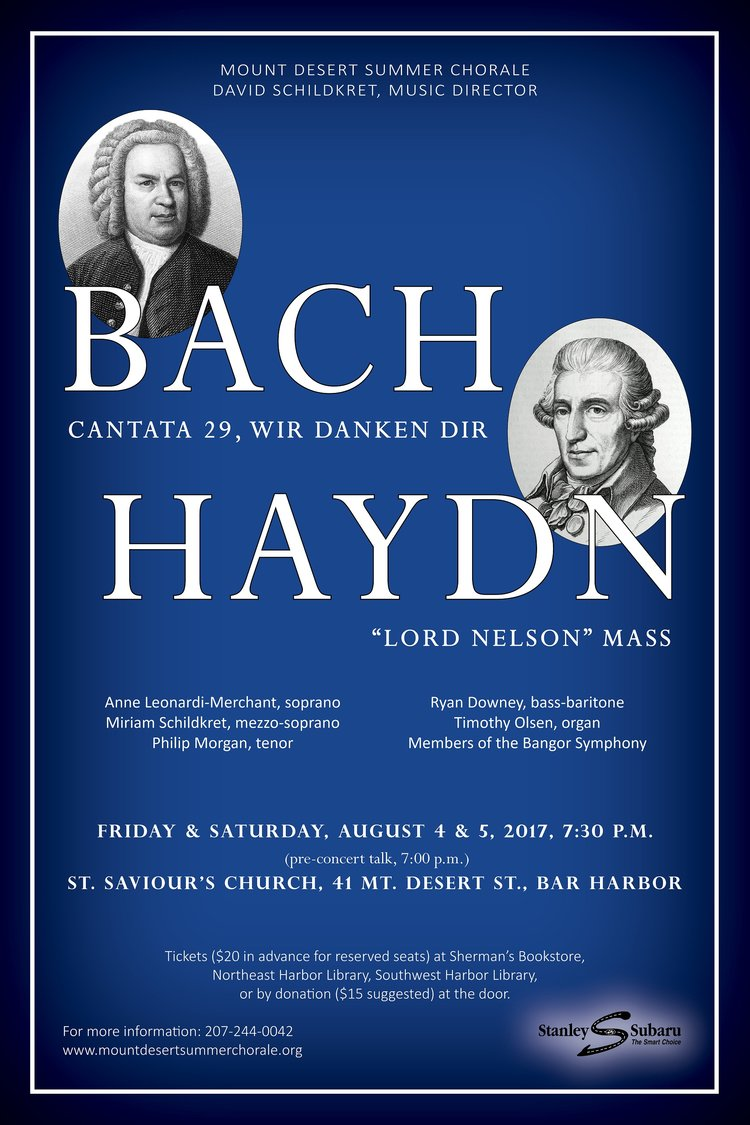 Bach and Haydn