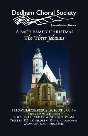 A Bach Family Christmas: The Three Johanns