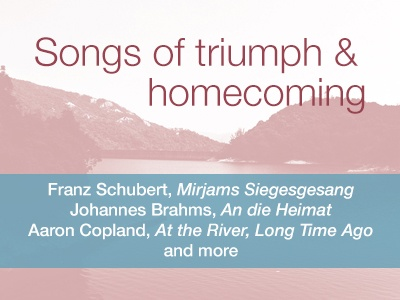 Songs of Triumph & Homecoming.