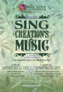 Sing Creation's Music