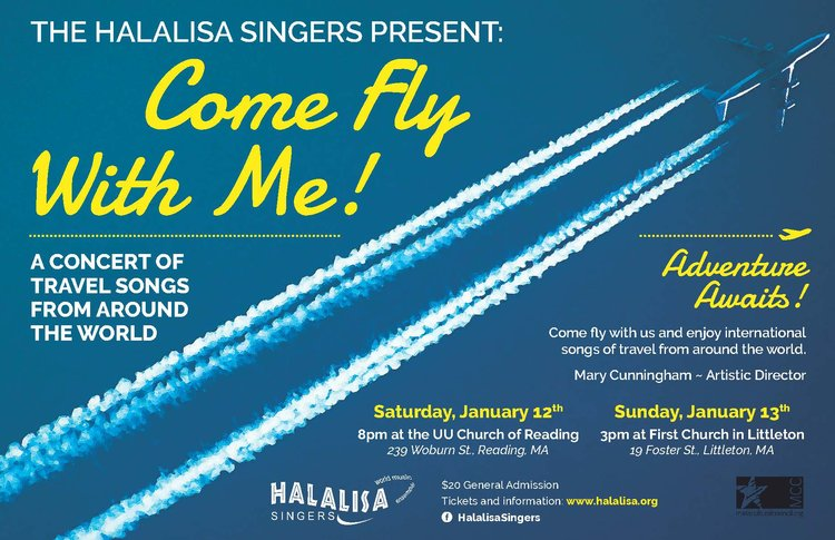 Come Fly With Me: Songs of Travel from Around the World