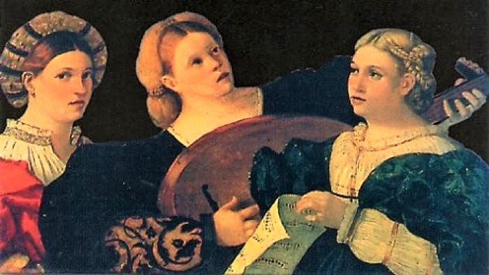 Concerto delle Donne—Consort of Ladies: Revolutionary Italian Vocal music of the late Renaissance.