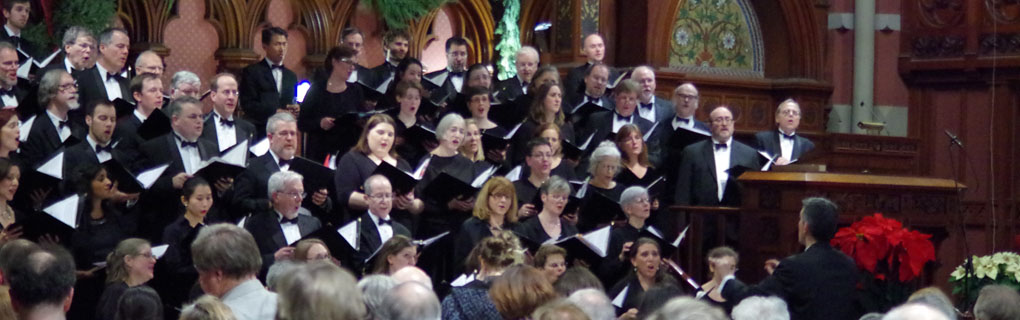 Holiday concert at Old South Church, Boston