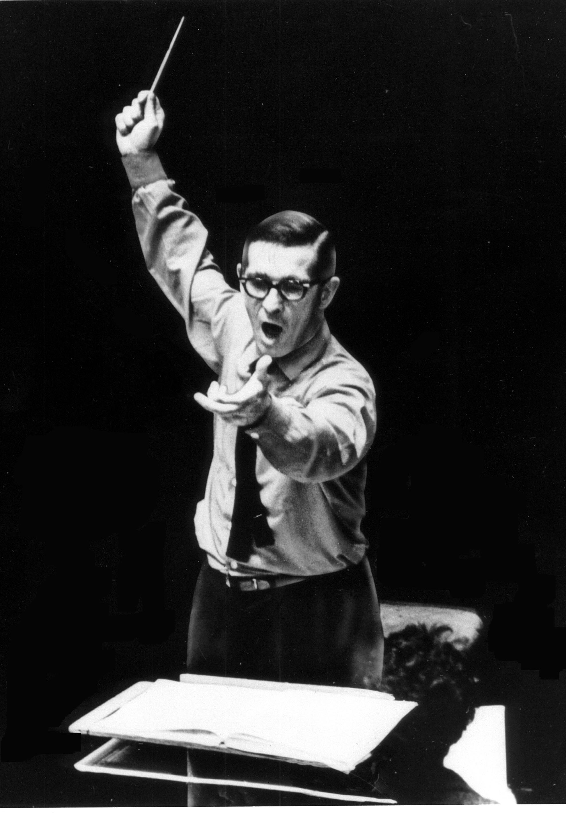 Alfred Nash Patterson conducting
