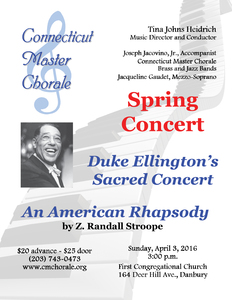 Connecticut Master Chorale Spring Concert