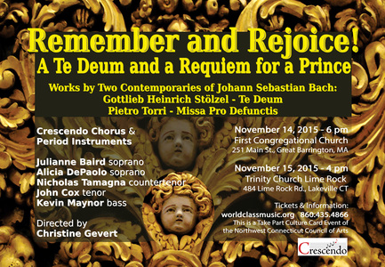 Remember and Rejoice! A Te Deum and a Requiem for a Prince.