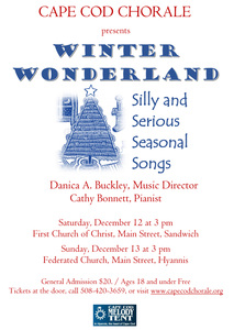 Winter Wonderland: Silly and Serious Seasonal Songs