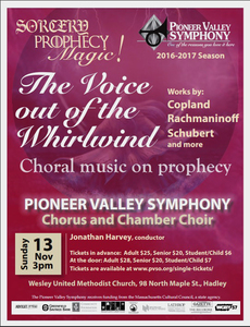 The Voice Out of the Whirlwind: Choral Music on Prophecy