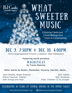 What Sweeter Music: Christmas Carols and Choral Settings from Chant to Contemporary