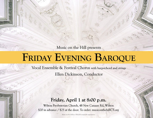 Friday Evening Baroque with Music on the Hill