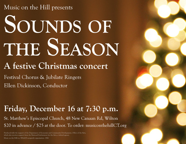 Sounds of the Season: Music on the Hill Christmas Concert