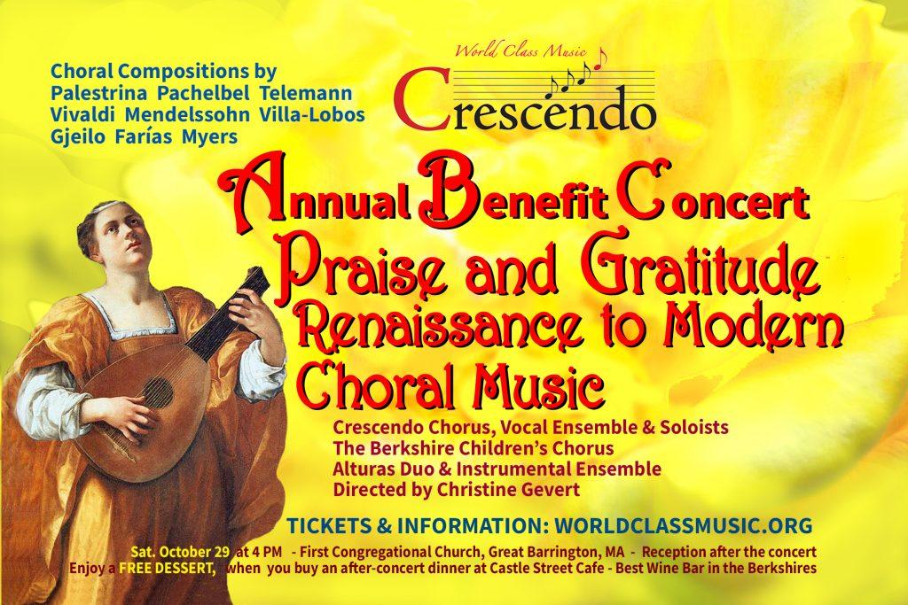 Praise & Gratitude: Renaissance to Modern Choral Music