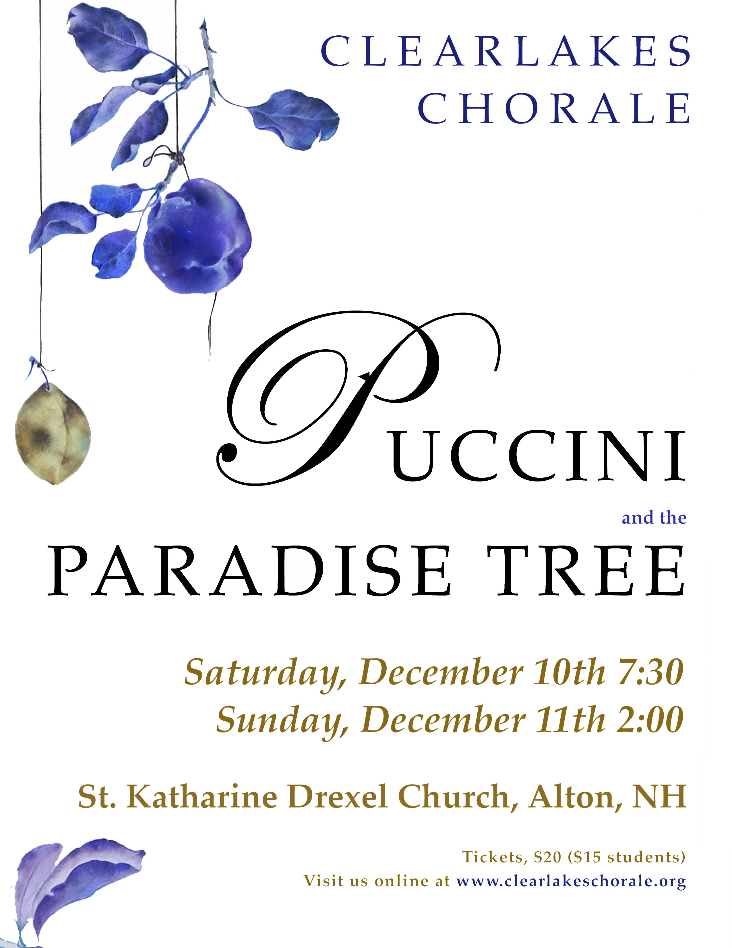 Puccini and the Paradise Tree