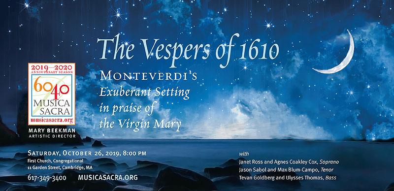 The Vespers of 1610